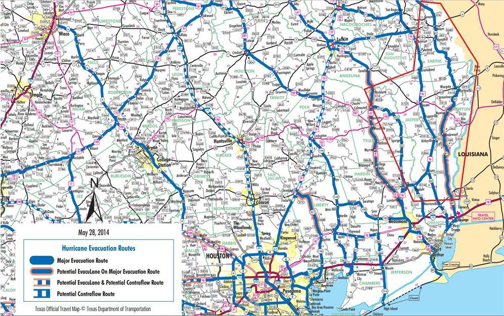 Evacuation Routes